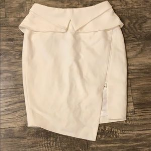 Women's ivory skirt size small